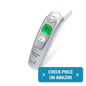 Innovo Medical Forehead and Ear Baby Thermometer review